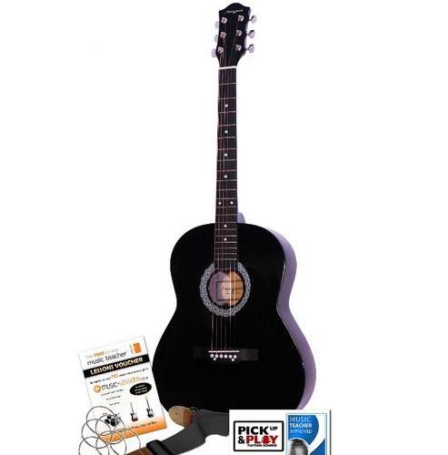 Martin Smith W 100 Acoustic Guitar Kit Black