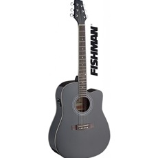 Rocket electro acoustic black