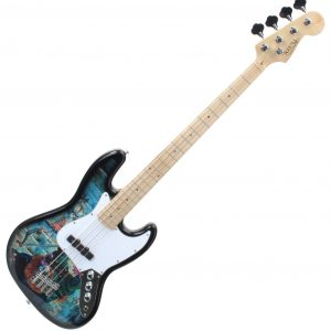 Rocktile Pro Graffiti Bass Guitar