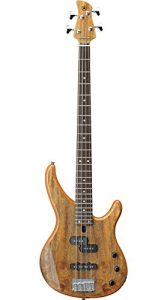 Yamaha trbx174ewnt bass guitar in natural