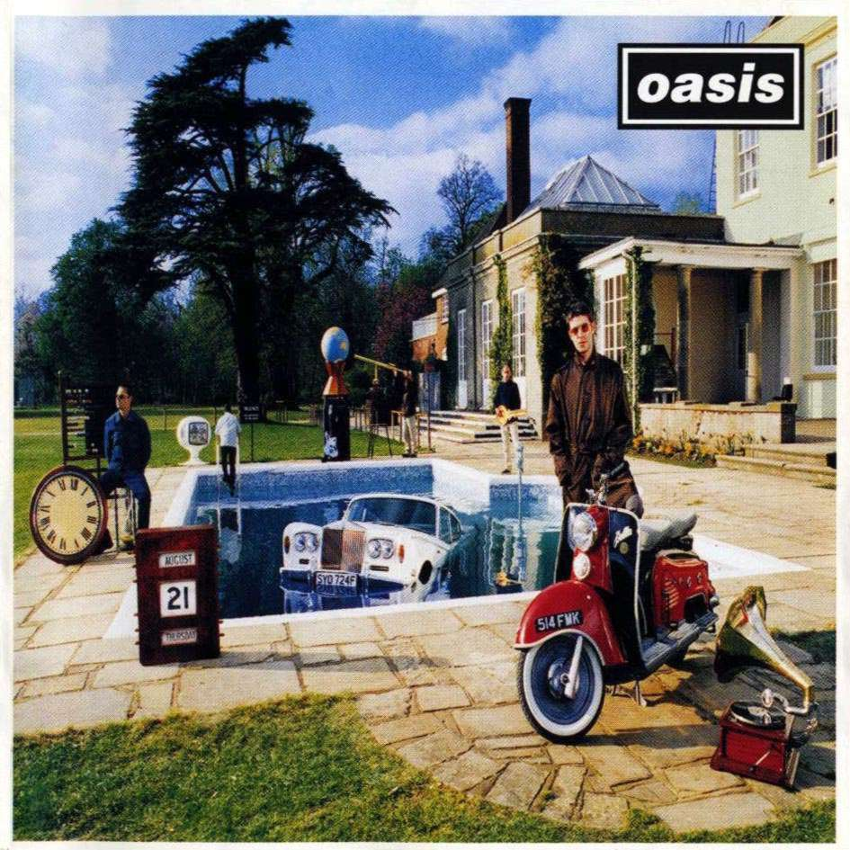 Be Here Now album cover - Oasis