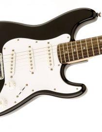 Squier by Fender Affinity strat guitar in black