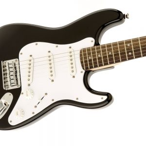 Squier by Fender Affinity strat guitar in black